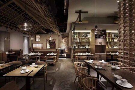 Thi công nội thất nhà hàng hiện đại, ấn tượng và thu hút khách