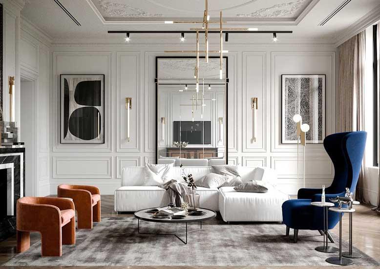Thiết kế kiến trúc bao gồm thiết kế và nội thất