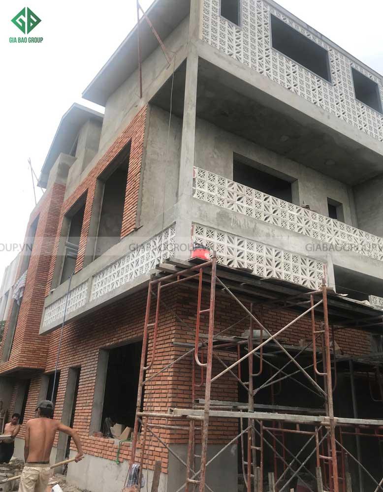 Dần hoàn thiện các giai đoạn trong công trình thi công kiến trúc