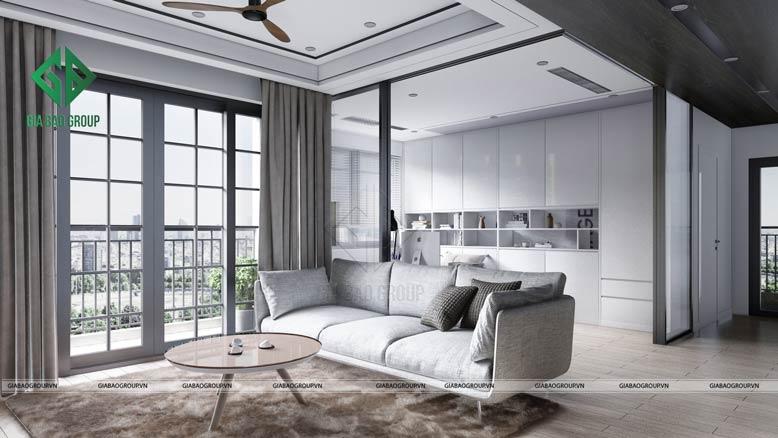 Thiết kế nội thất hiện đại và thời thượng
