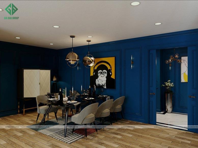 Thiết kế nội thất tân cổ điển ấn tượng
