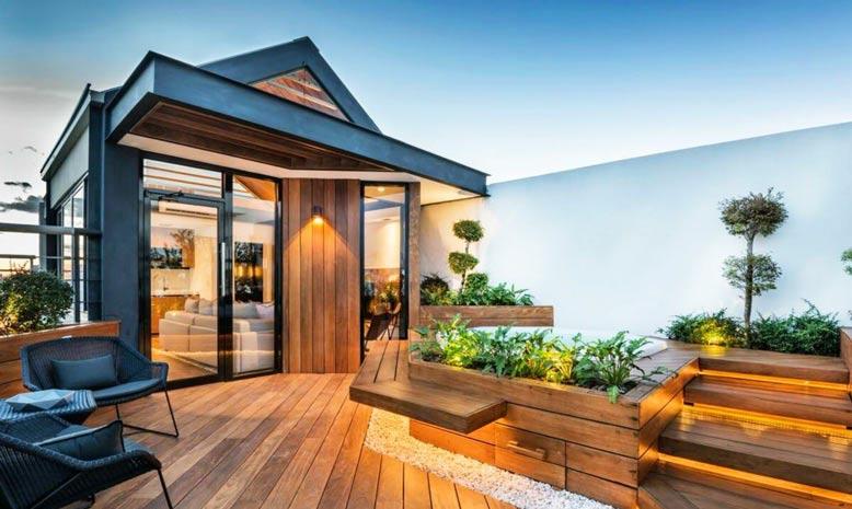 Tổng hợp những mẫu sân thượng nhà phố đẹp và vô cùng ấn tượng