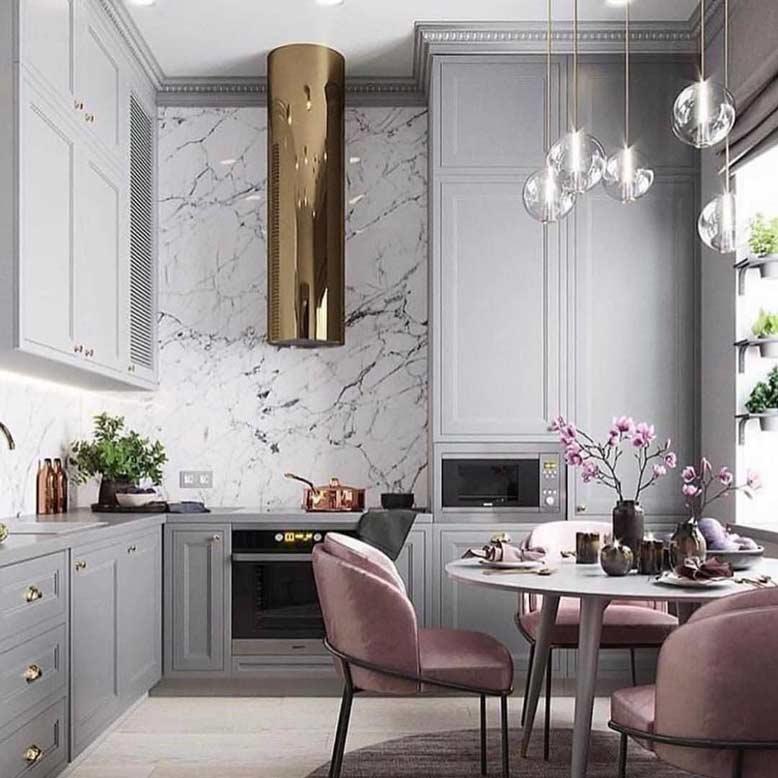 Phong cách thiết kế nội thất căn hộ thể hiện sự mạnh mẽ và hiện đại