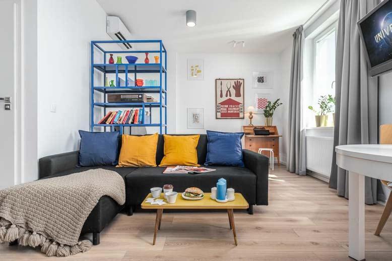 Phong cách retro khi thiết kế nội thất căn hộ chung cư