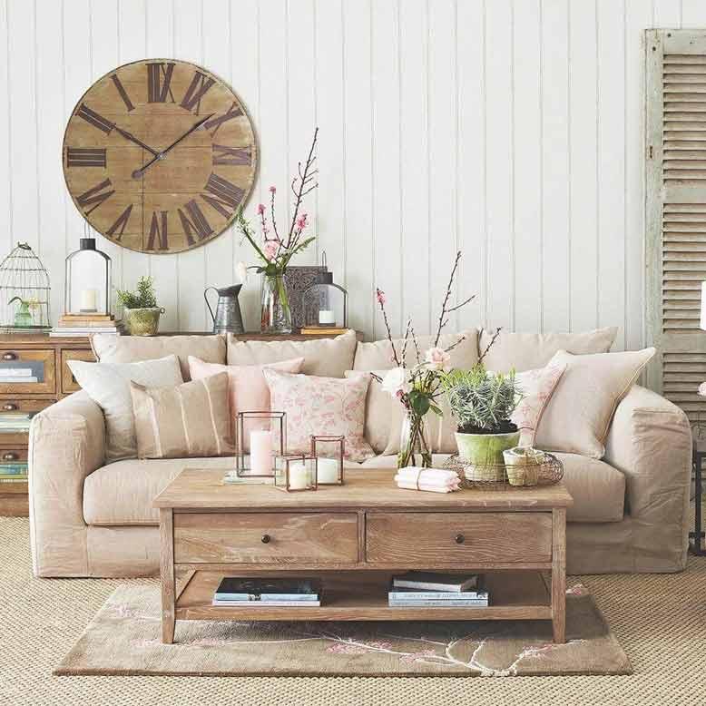 Thiết kế nội thất căn hộ theo phong cách đồng quê mộc mạc