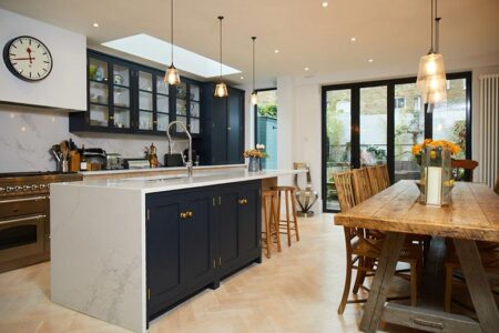 Cách thiết kế nhà bếp hiện đại với nội thất độc đáo và mới mẻ