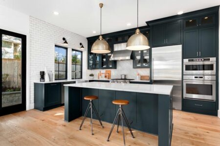 Ý tưởng thiết kế phòng bếp nhà phố hiện đại phù hợp với xu hướng hiện nay