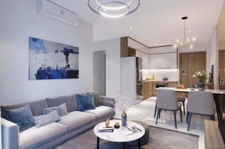 Mẫu thiết kế nội thất chung cư hiện đại tuyệt đẹp cho căn hộ Vinhome quận 9
