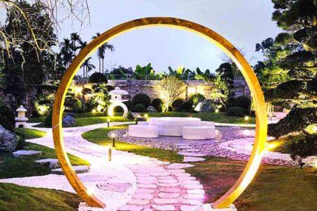 Top 8 mẫu thiết kế sân vườn tạo không gian sống lý tưởng
