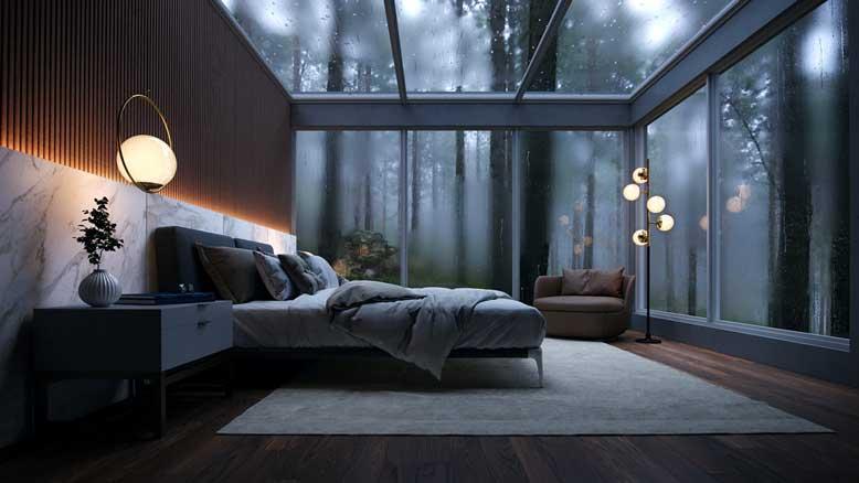 Diện tích phòng ngủ đạt tiêu chuẩn là bao nhiêu mét vuông?