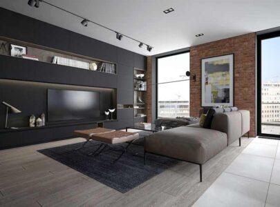 Bí quyết lựa chọn mẫu tủ âm tường trong phòng khách hợp xu hướng