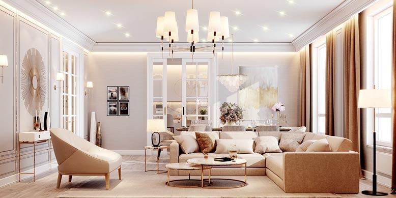 Lựa chọn họa tiết và đồ trang trí nội thất tinh tế, đẹp mắt