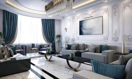Gợi ý các mẫu nội thất phòng khách tân cổ điển sang trọng và tinh tế