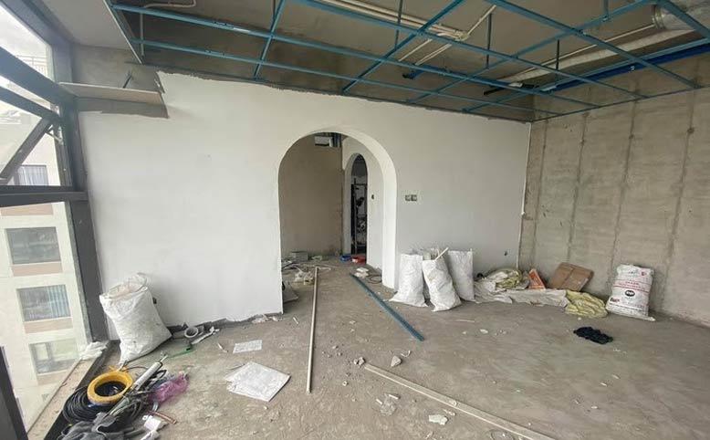 Ngôi nhà trước khi cải tạo