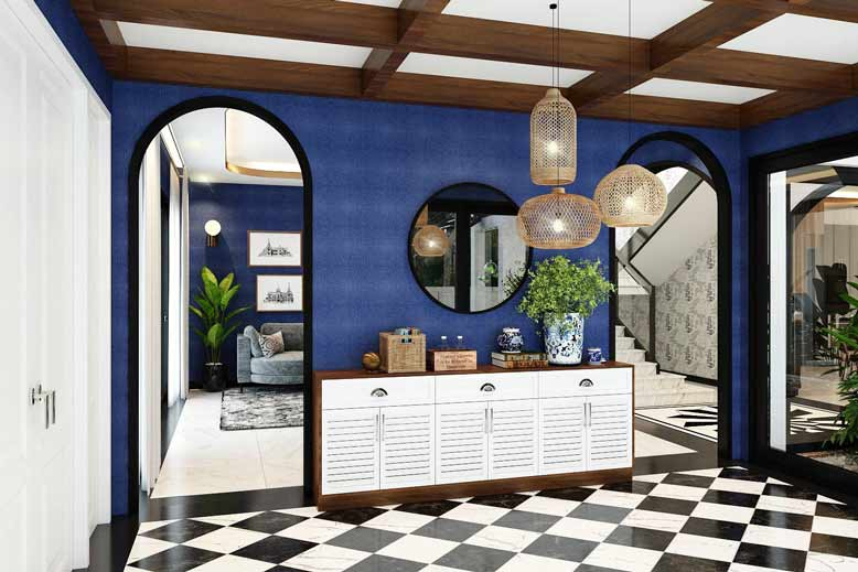 Thiết kế gạch lát sàn mang vẻ đẹp truyền thống ấn tượng
