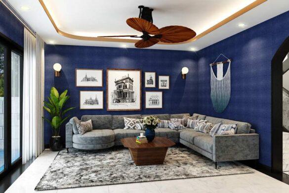 Mẫu thiết kế phòng khách hiện đại đến từ Gia Bảo Group