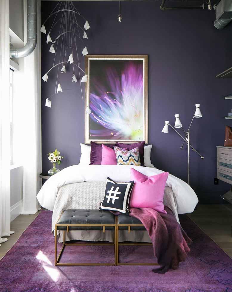 Không gian phòng ngủ sáng tạo và năng động