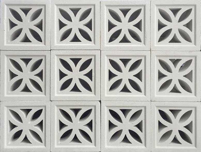 Lý do chọn gạch bông gió thiết kế nhà 4 tầng
