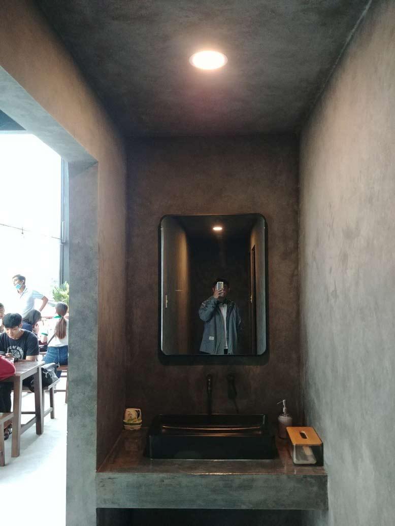 Ảnh thực tế nội thất quán cafe đẹp