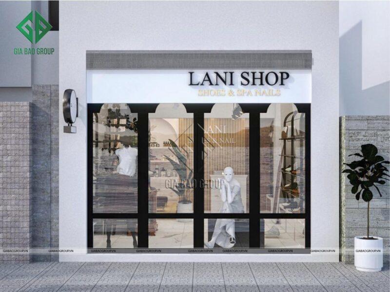 Thiết kế shop diện tích nhỏ ấn tượng, phong cách