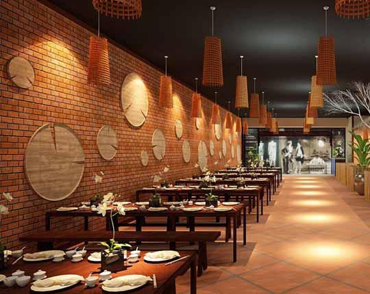 Thiết kế quán ăn và những nguyên tắc thiết kế cơ bản cần biết