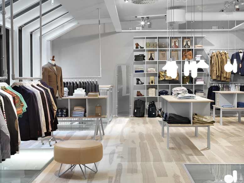 Tham khảo cách thiết kế nội thất cho shop quần áo đơn giản