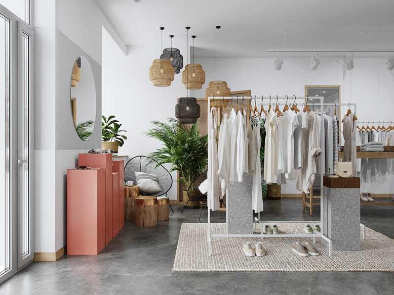 Thiết kế nội thất kết hợp hiện đại và bohemian