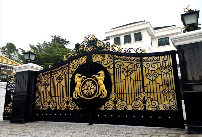 Tổng hợp các mẫu cổng đẹp cho công trình xây dựng
