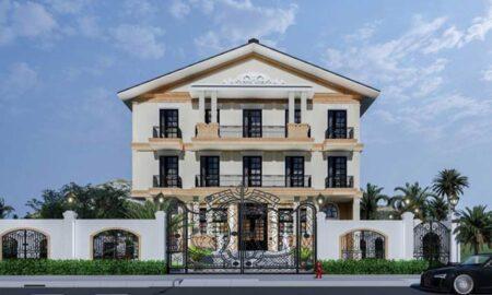 Thiết kế nhà ở cao cấp kết hợp dịch vụ thương mại phong cách tân cổ điển ấn tượng