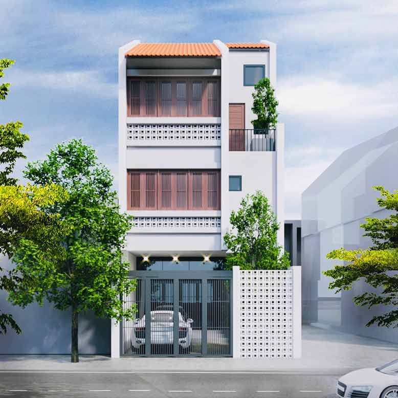 Sự hoàn mỹ cho không gian thiết kế nhà phố đẹp