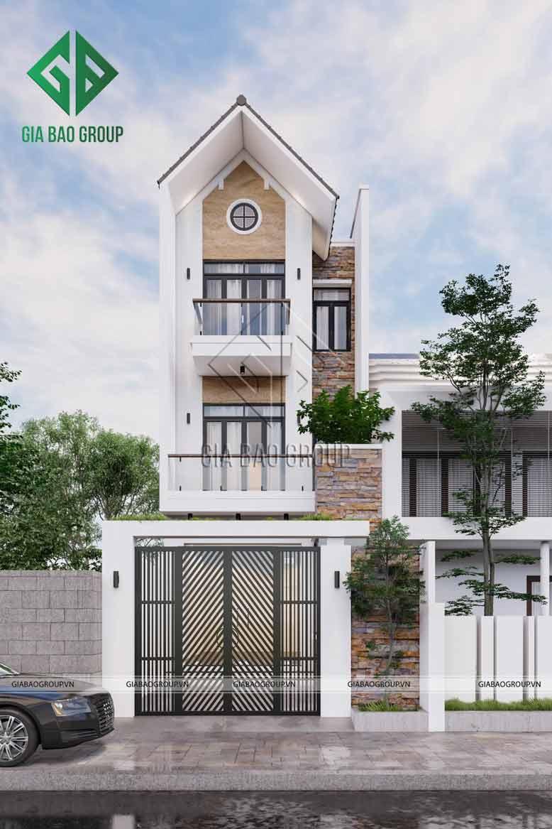 Mẫu thiết kế nhà đẹp được thực hiện bởi Gia Bảo Group