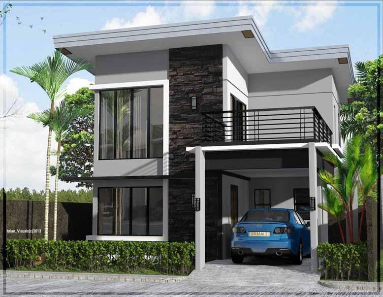 Thiết kế nhà đẹp, đơn giản và thanh lịch