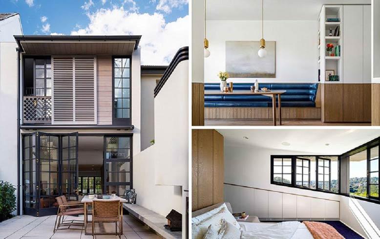 Thiết kế nhà đẹp cần sự kết hợp hài hòa giữa ngoại thất và nội thất