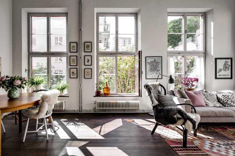 Màu sắc sử dụng trong thiết kế căn hộ chung cư hiện đại thường là những gam màu sáng trung tính