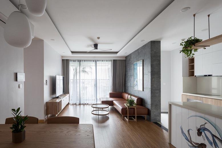 Thiết kế nội thất chung cư phong cách tối giản cần hạn chế bớt đồ nội thất