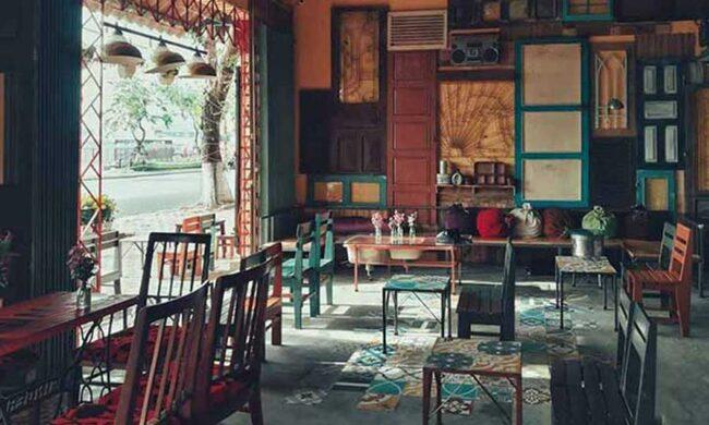 Thiết kế quán cafe phong cách cổ điển đẹp, thu hút khách