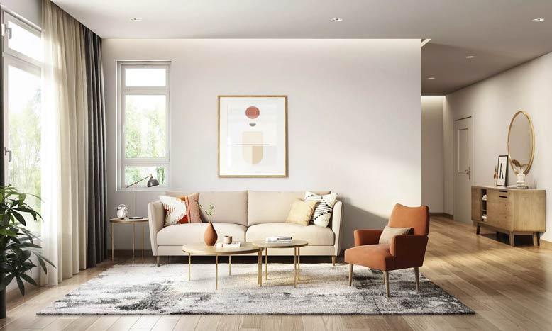 Gợi ý cách thiết kế nội thất với gam màu đơn giản và tinh tế