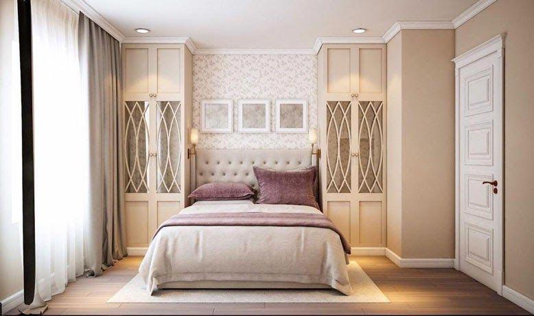 Phòng ngủ mang nét đẹp nhẹ nhàng và nhã nhặn