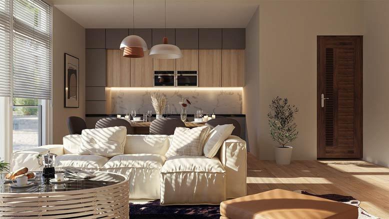 Thiết kế và thi công nội thất trọn gói theo phong cách hiện đại
