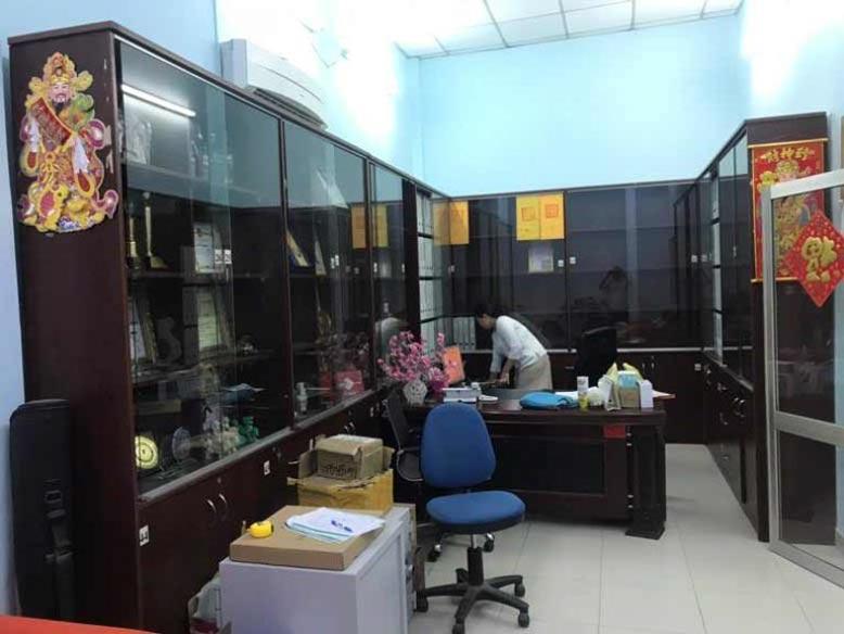Không gian phòng làm việc của giám đốc trước khi thi công nội thất