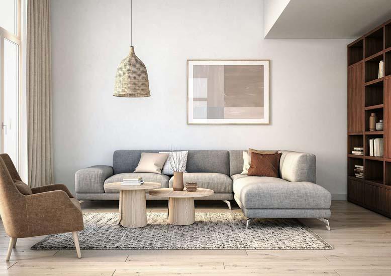 Gợi ý cách thiết kế và thi công nội thất trọn gói theo hướng Bắc Âu