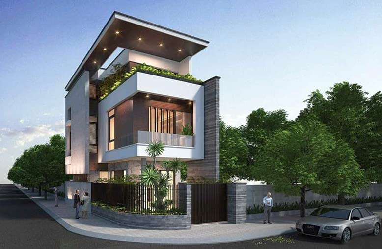 Gợi ý cách thiết kế nhà đẹp 2 mặt tiền