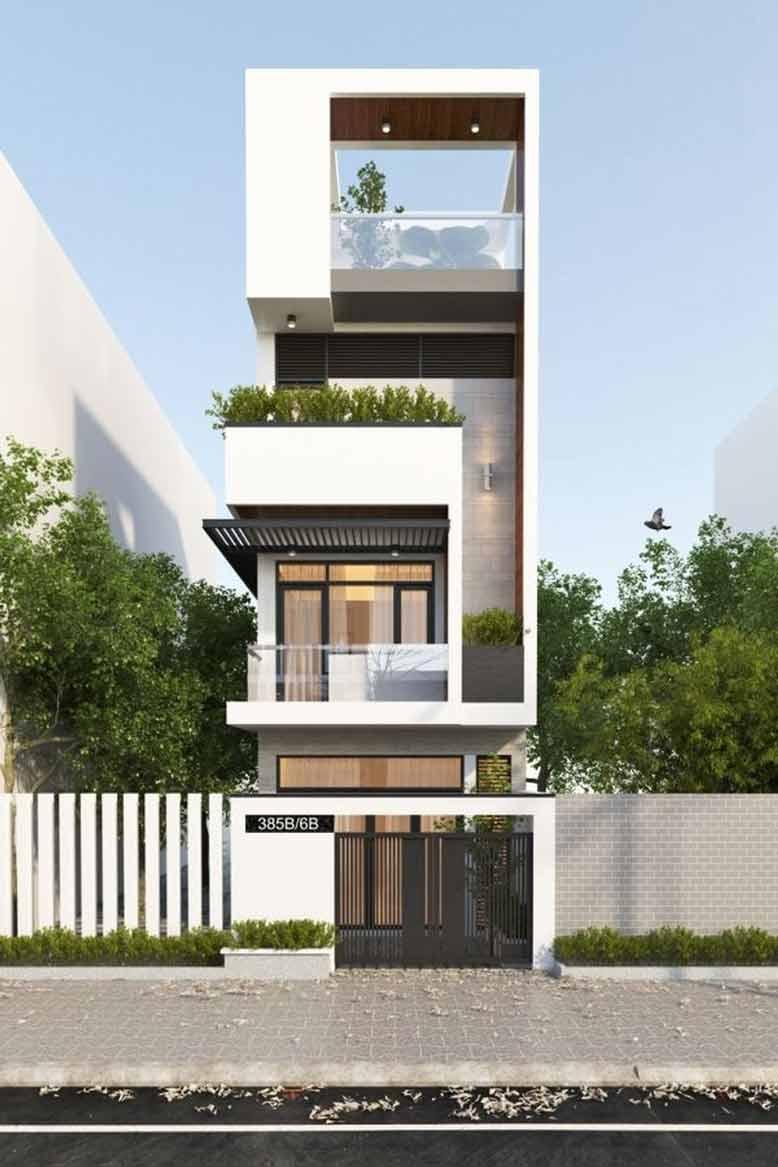 Tham khảo công trình thiết kế nhà đẹp cho gia chủ yêu thích sự cá tính