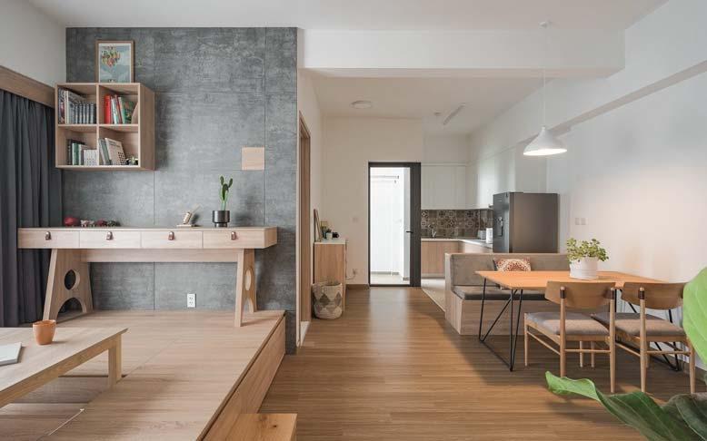 Yếu tố công năng trong thiết kế nội thất căn hộ chung cư phải được đảm bảo