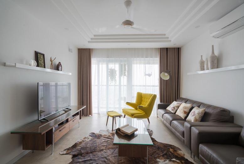 Phong cách thiết kế nội thất căn hộ chung cư phải phù hợp với sở thích và gu của gia chủ