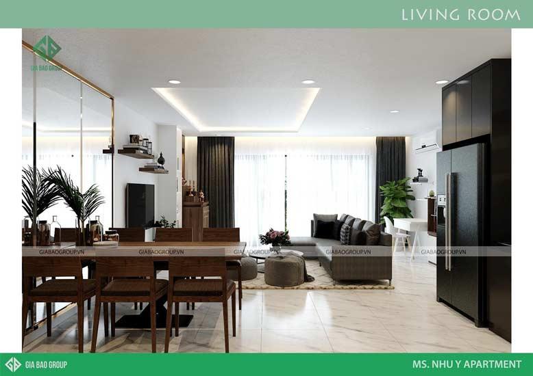 Gia Bảo Group là công ty thiết kế có gần 11 năm kinh nghiệm trong thiết kế nội thất căn hộ chung cư