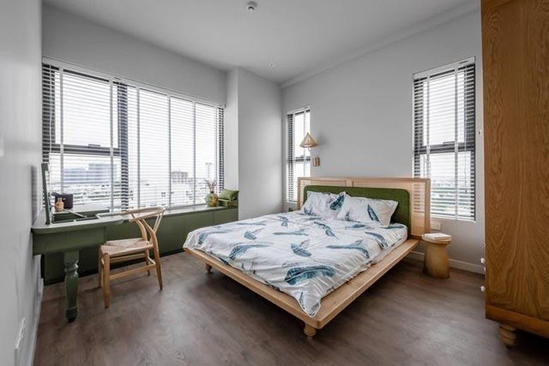 Đồ nội thất tối giản tạo cảm giác rộng thoáng cho căn hộ chung cư