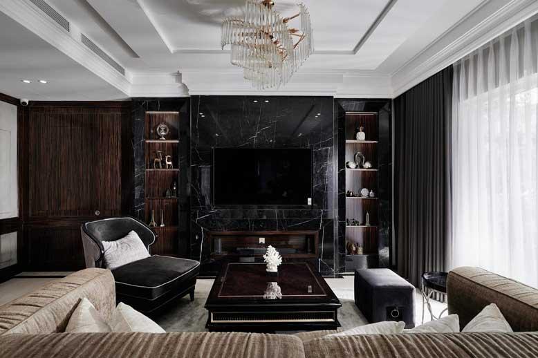Thiết kế nội thất căn hộ chung cư với phong cách Luxury sang trọng