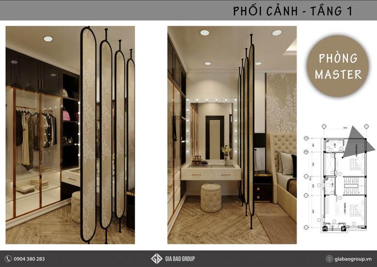 Lựa chọn tủ quần áo phù hợp với thiết kế nội thất phong cách Đông Dương