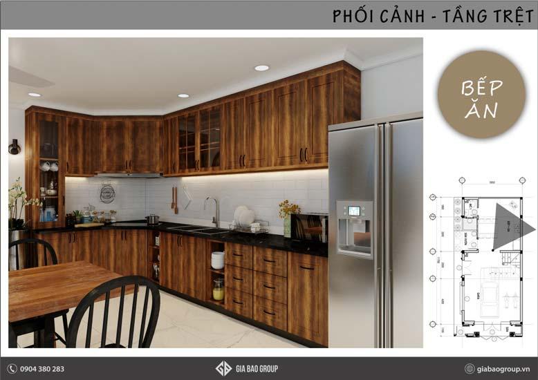 Lựa chọn đồ dùng nội thất cho không gian bếp